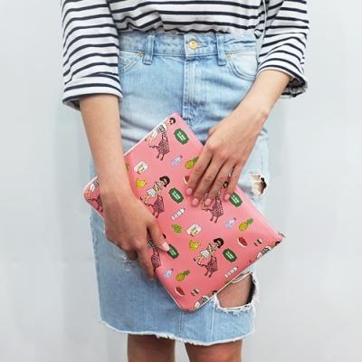 Ooh Là Là! 最新 BIG CLUTCH BAG Size 30 X 20cm (五款)<8折中>