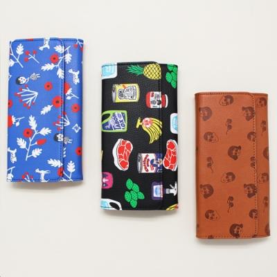 Ooh Là Là! 最新  Wallet Ver 3 長銀包(共三款) Size: 190X 105X25mm <8折中>