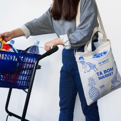 Ooh Là Là! 最新 TWO-WAY BAG Size 36.5 X 39.8cm(四款)<8折中>