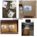 iamhanda「pongdangwater」天然手工製生姜綜合排毒水果水SET (25包+原庄水樽)<搶手現貨>
