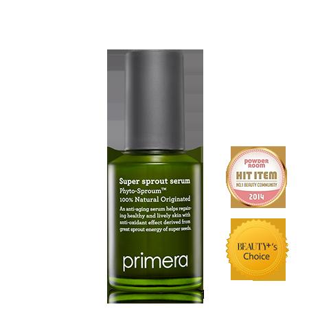 Primera Super Sprout Serum 50ml 黑豆淨白抗氧保濕精華 <成為VIP即享88折>